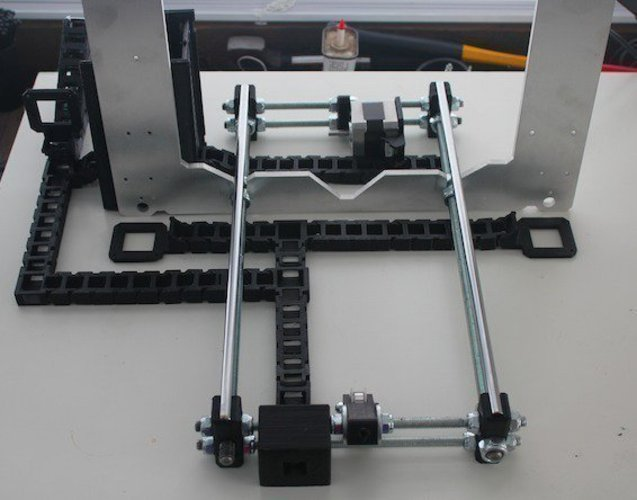 Cable Chain System | Revolution Media Groups Rep Rap Rework i3 3D Print 57191