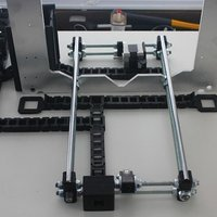 Small Cable Chain System | Revolution Media Groups Rep Rap Rework i3 3D Printing 57191