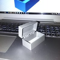 Small Box with hinges 3D Printing 57205