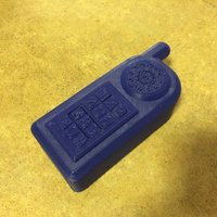 Small Toy Phone with Sound! 3D Printing 57220