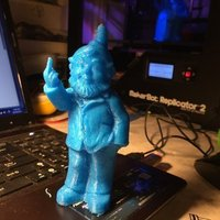 Small Rude gnome 3D Printing 57427