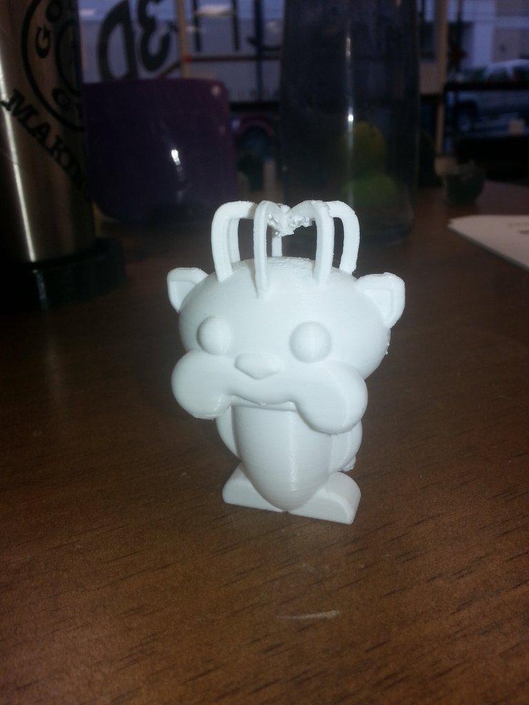 3D Printed JMU Reddit Duke Dog by Joey Stoll | Pinshape
