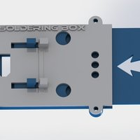 Small Soldering Box for multirotors ABS 3D Printing 57625