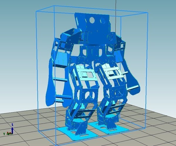 Medium Boxing Robot - Anthony Zero (Light Version) 3D Printing 57660