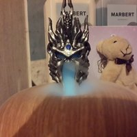 Small lich king-helmet 阿薩斯頭盔 3D Printing 57809