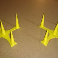 Small Bird Guard Crown 3D Printing 58024