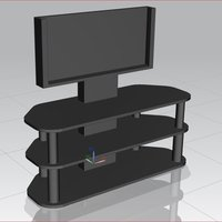 Small Iphone 6 TV Stand 3D Printing 58052