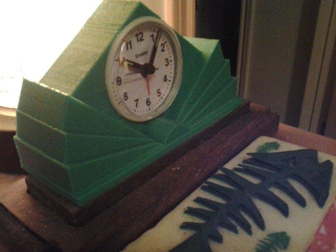 Art Deco Clock 3D Print 58059