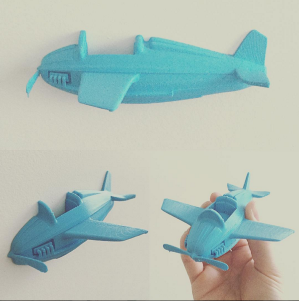 Medium Little plane 3D Printing 58081