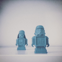 Small Darthmaker and Ultitrooper 3D Printing 58083