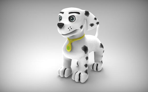 Medium Marshall Paw patrol Puppy Dog 3D Printing 58110