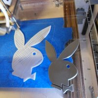 Small Playboy bunny 3D Printing 58128