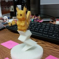 Small Low-Poly Pikachu 3D Printing 58141