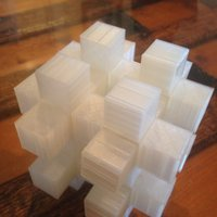 Small Ball in a Cage Puzzle 3D Printing 58259