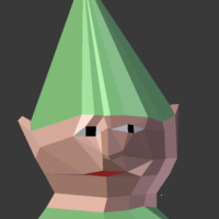 Small Gnome child 3D Printing 58378