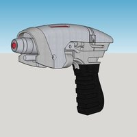 Small Star Trek Enterprise: Phase Pistol 3D Printing 58539