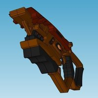 Small Bajoran Phaser Rifle 3D Printing 58576
