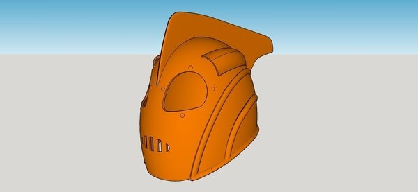 Medium Rocketeer Helmet 3D Printing 58616
