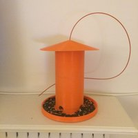 Small Simple bird feeder 3D Printing 58628