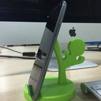 Small Mobilephone holder —Martial Artist 3D Printing 58894