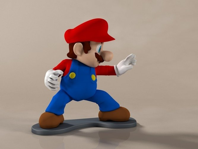 High-Res Super Mario 3D Print 58919