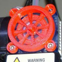 Small Fan Reducer Protector 3D Printing 58927
