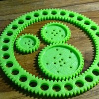 Small Basic Kit Spirograph 3D Printing 58959