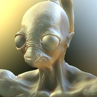 Small Abe from Oddworld  - Singing 3D Printing 58966