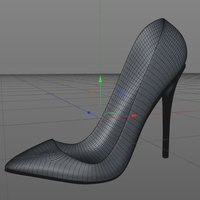 Small High Heels shoes - OutDated! Get V3 3D Printing 58980