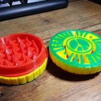 Small Updated! Herb Grinder - New release 3D Printing 58986