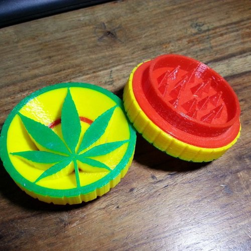 Updated! Herb Grinder - New release 3D Print 58988