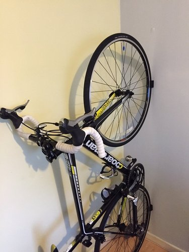 Road Bike Wall Mounted Rack 3D Print 59106