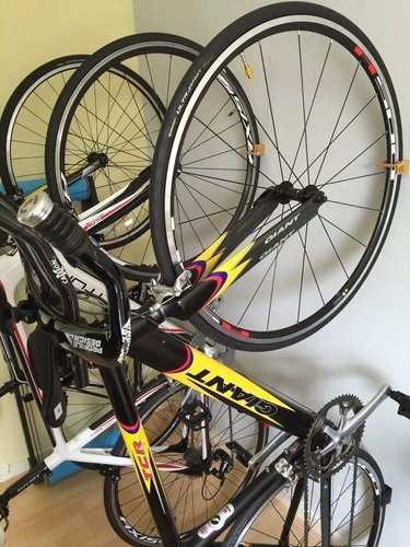 Road Bike Wall Mounted Rack 3D Print 59108
