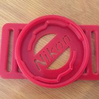 Small Nikon Lens cap holder 52-58-67-72-77 3D Printing 59374