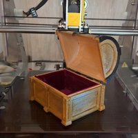 Small Treasure chest 3D Printing 59654