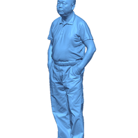 Small Mr. Hung standing 190mm 3D Printing 59692