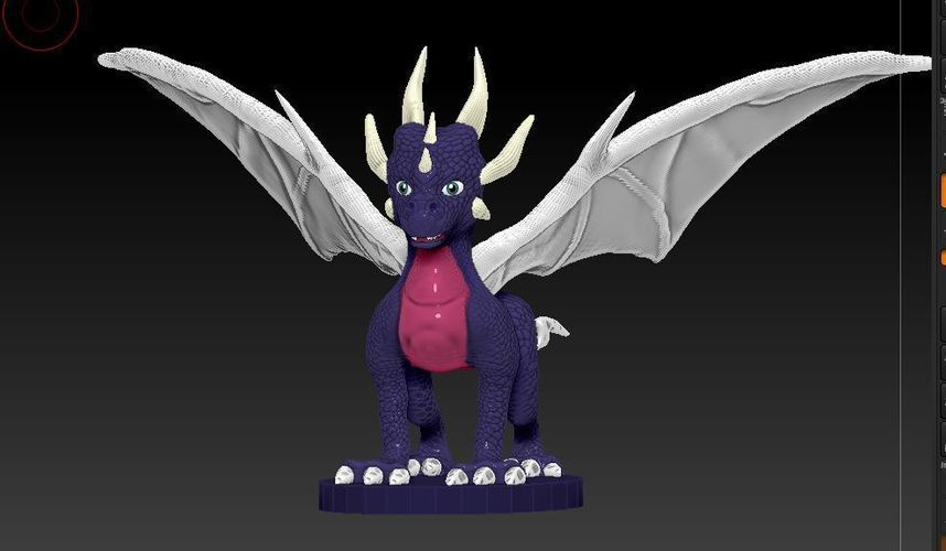 Cynder The Dragon  3D Print 59722