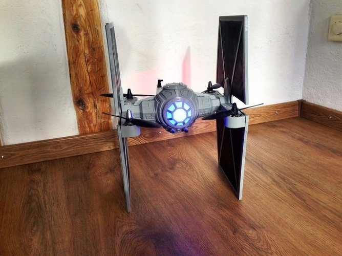 StarWars TieFighter - 250 Racer Style 3D Print 59733