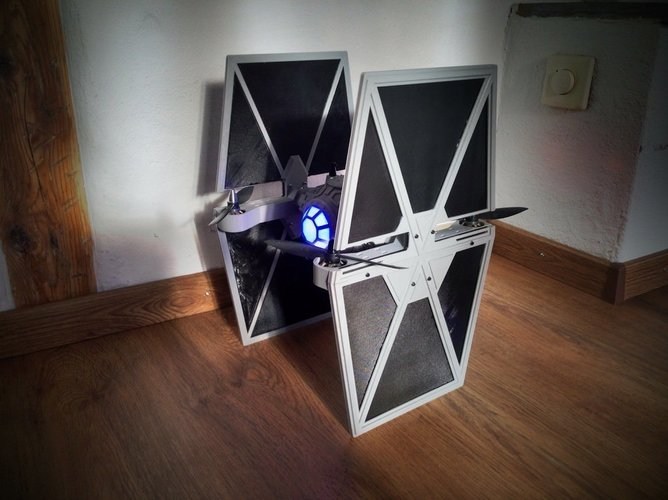 StarWars TieFighter - 250 Racer Style 3D Print 59736