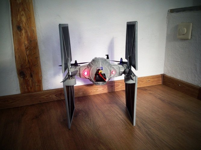StarWars TieFighter - 250 Racer Style 3D Print 59737