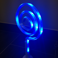 Small Curl led lamp 3D Printing 59817
