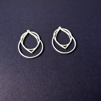 Small Droplet Earring 3D Printing 59828