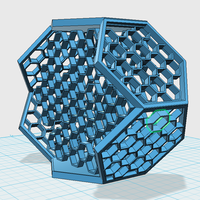 Small HEXAGON NIGHTMARE 3D Printing 60161