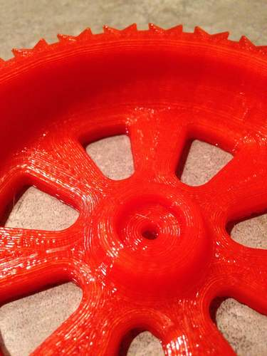 RC snow and sand tire for 1:10 scale cars. 3D Print 60499