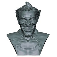 Small The Joker Bust 3D Printing 60539