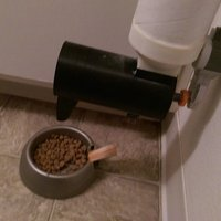 Small Cat Feeder 3D Printing 60647