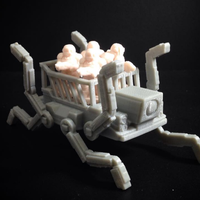 Small OctoWalker (18mm scale) 3D Printing 60740