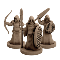 Small Fantasy Warriors (18mm scale) 3D Printing 60750