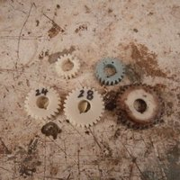 Small SOUTH BEND LATHE MODEL 9C ( 1937-1940 ) CHANGE GEARS  PART 1 3D Printing 60834