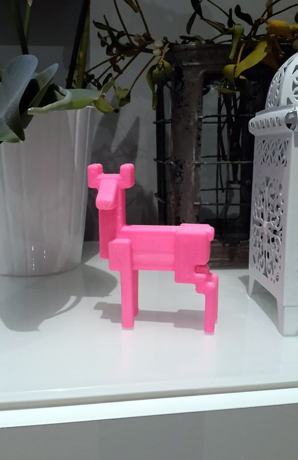 Medium Deer Ikea - decoration - SAMSPELT 3D Printing 60954